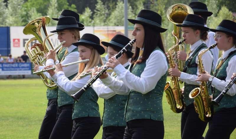 Marschmusikbewertung beim Bezirksmusikfest in St. Georgen - Bild 75