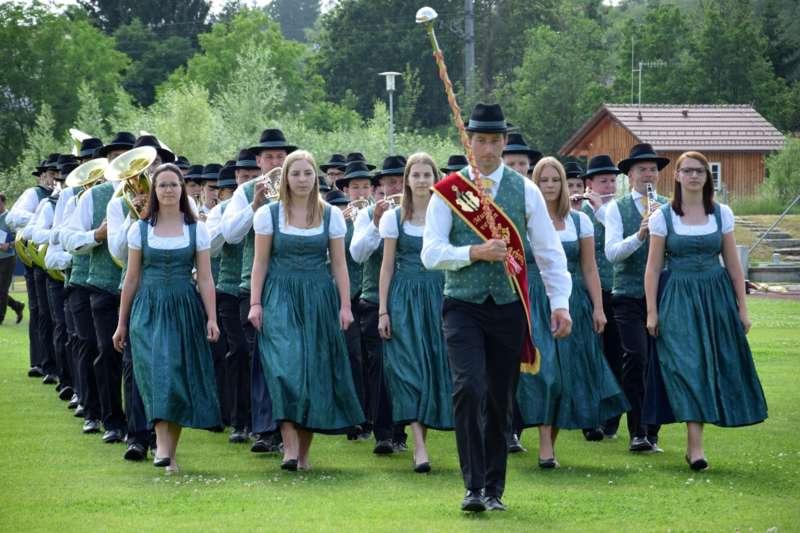 Marschmusikbewertung beim Bezirksmusikfest in St. Georgen - Bild 78