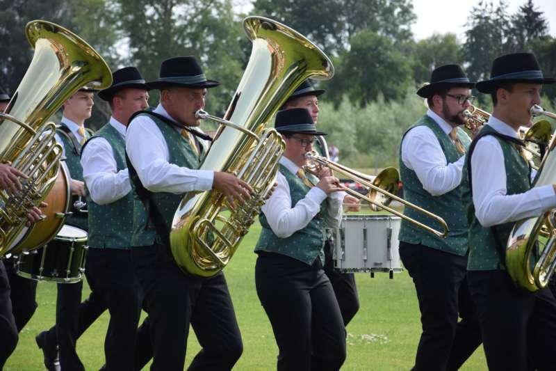Marschmusikbewertung beim Bezirksmusikfest in St. Georgen - Bild 79