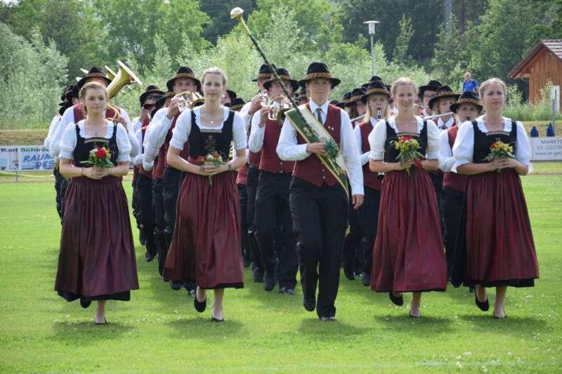 Marschmusikbewertung beim Bezirksmusikfest in St. Georgen - Bild 85