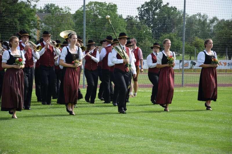 Marschmusikbewertung beim Bezirksmusikfest in St. Georgen - Bild 86