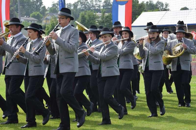 Marschmusikbewertung beim Bezirksmusikfest in St. Georgen - Bild 87