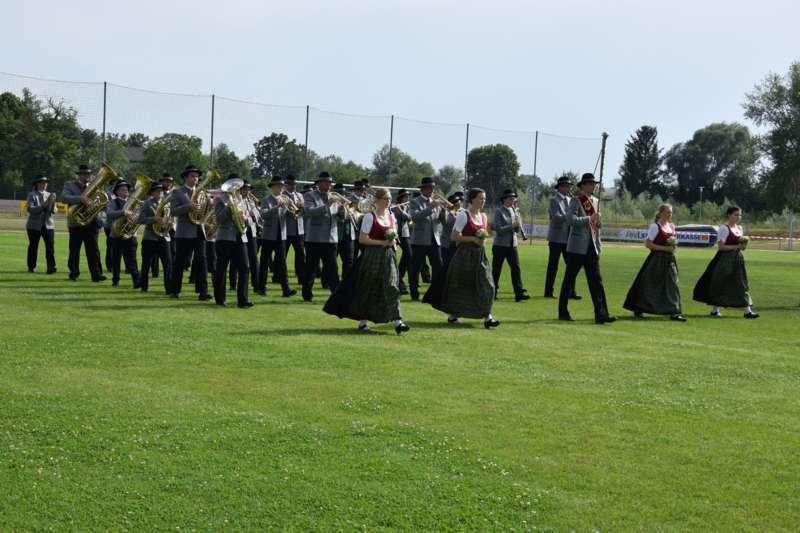 Marschmusikbewertung beim Bezirksmusikfest in St. Georgen - Bild 92