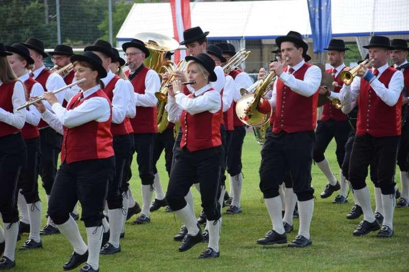 Marschmusikbewertung beim Bezirksmusikfest in St. Georgen - Bild 113