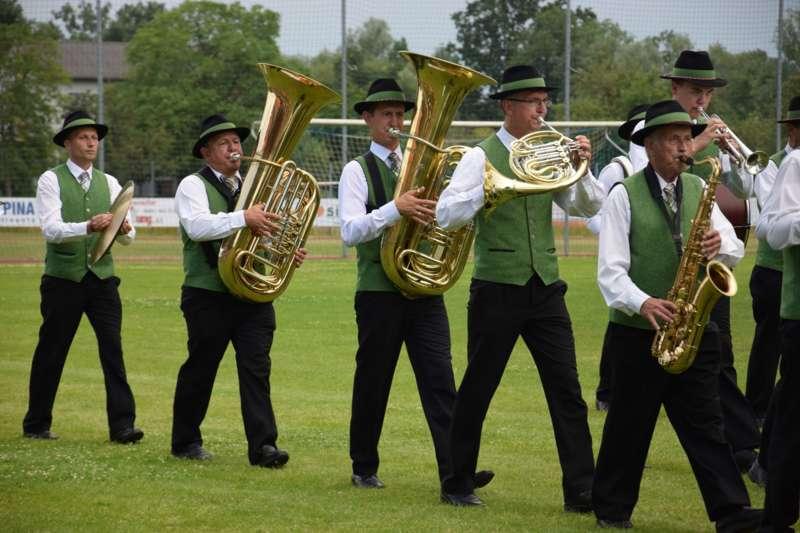 Marschmusikbewertung beim Bezirksmusikfest in St. Georgen - Bild 125