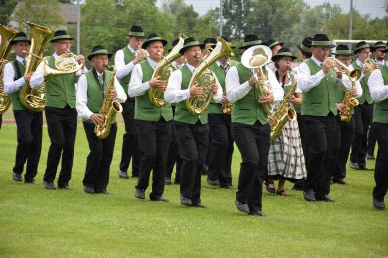 Marschmusikbewertung beim Bezirksmusikfest in St. Georgen - Bild 127
