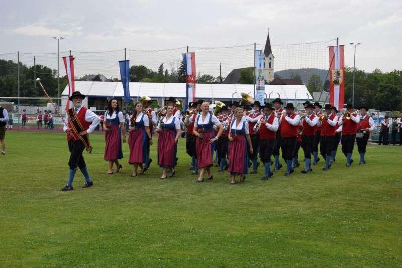 Marschmusikbewertung beim Bezirksmusikfest in St. Georgen - Bild 128