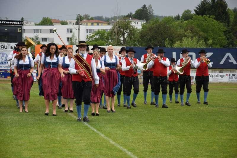 Marschmusikbewertung beim Bezirksmusikfest in St. Georgen - Bild 130