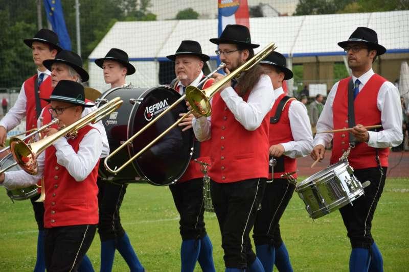 Marschmusikbewertung beim Bezirksmusikfest in St. Georgen - Bild 140