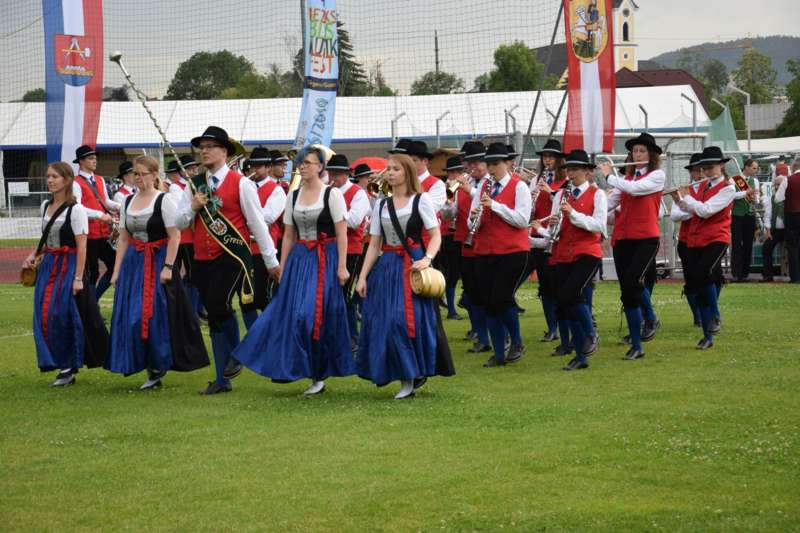 Marschmusikbewertung beim Bezirksmusikfest in St. Georgen - Bild 141