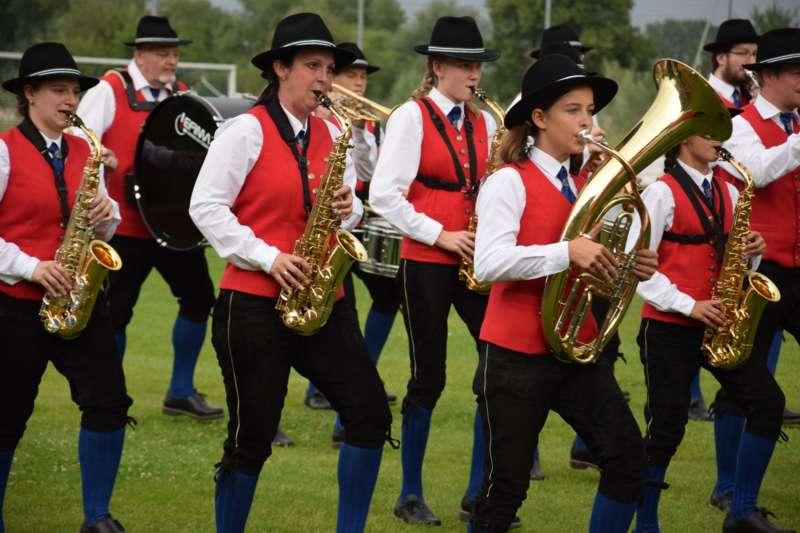Marschmusikbewertung beim Bezirksmusikfest in St. Georgen - Bild 142