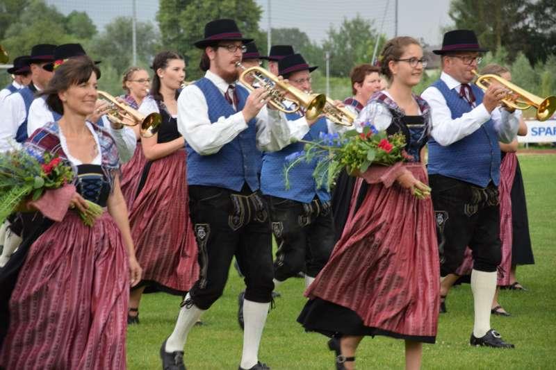 Marschmusikbewertung beim Bezirksmusikfest in St. Georgen - Bild 148