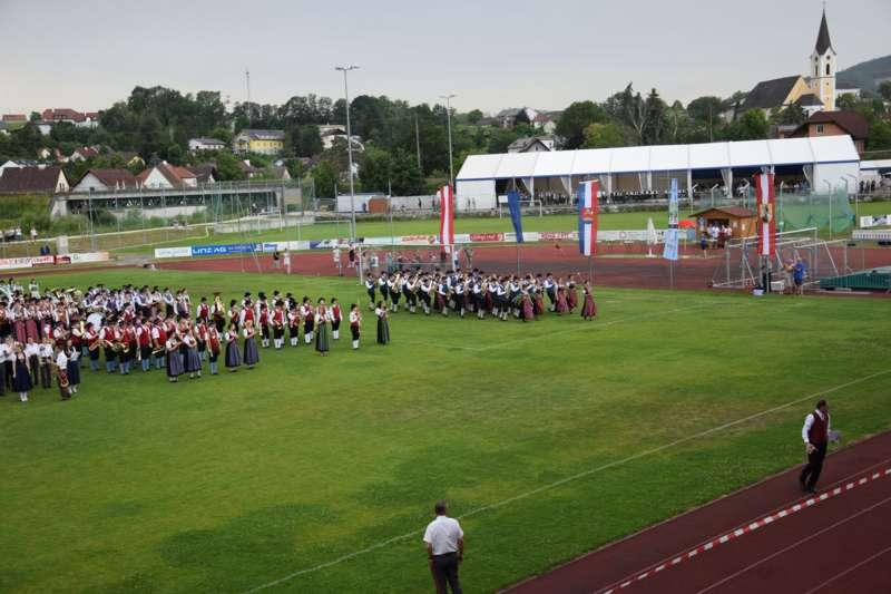 Marschmusikbewertung beim Bezirksmusikfest in St. Georgen - Bild 156