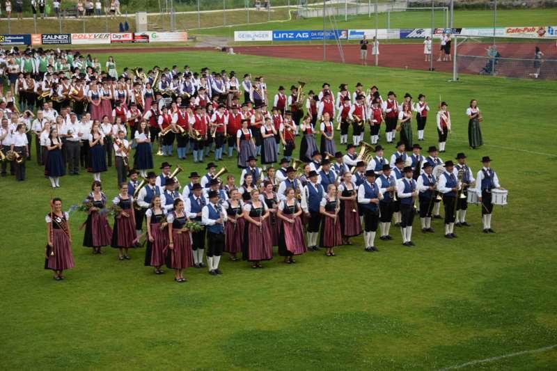 Marschmusikbewertung beim Bezirksmusikfest in St. Georgen - Bild 160