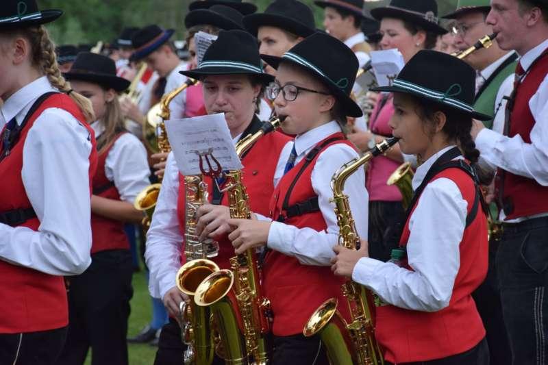 Marschmusikbewertung beim Bezirksmusikfest in St. Georgen - Bild 162