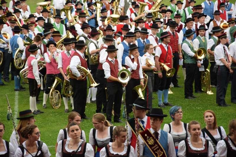 Marschmusikbewertung beim Bezirksmusikfest in St. Georgen - Bild 163