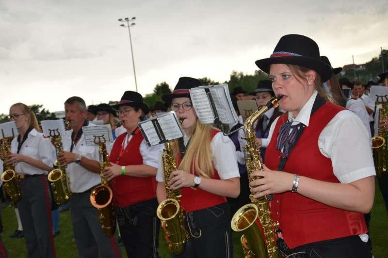 Marschmusikbewertung beim Bezirksmusikfest in St. Georgen - Bild 165