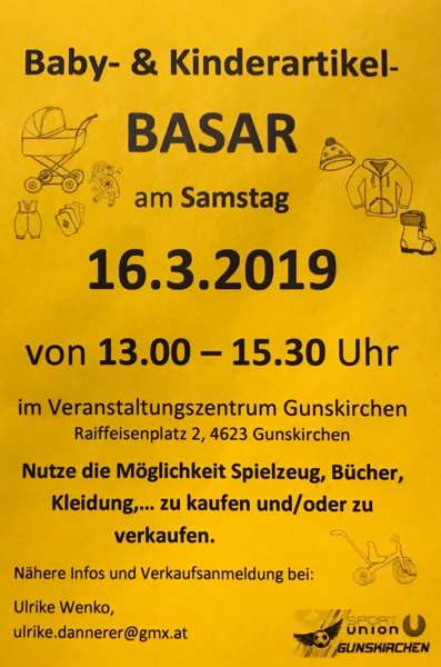 Baby- & Kinderartikel BASAR - Bild 1550851862