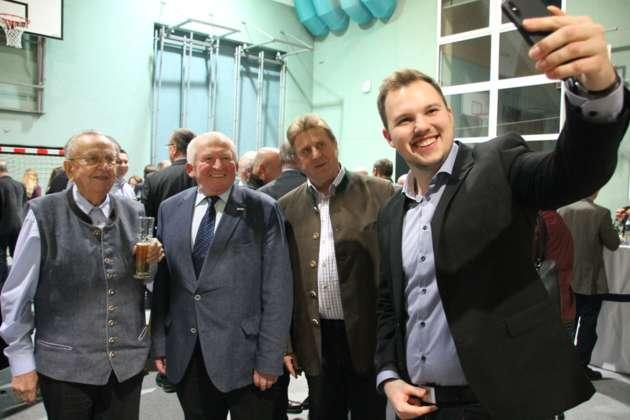 Erster Neujahrsempfang Mit Bürgermeister Fabian Grüneis