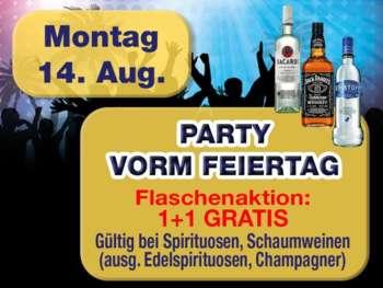 Party vor dem Feiertag in der Mausefalle