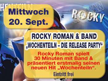 Rocky Roman and Band in der Mausefalle