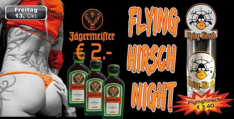 Flying Hirsch Night in der Mausefalle - Bild 1