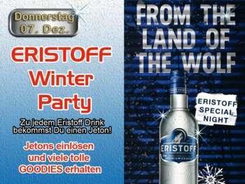 Eristoff Winter Party in der Mausefalle