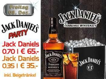 Jack Daniels Party in der Mausefalle
