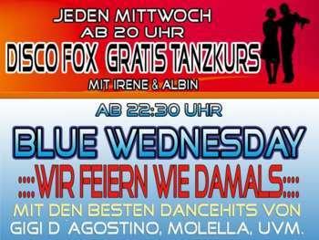 Jeden Mittwoch - Gratis Tanzkurs und Blue Wednesday