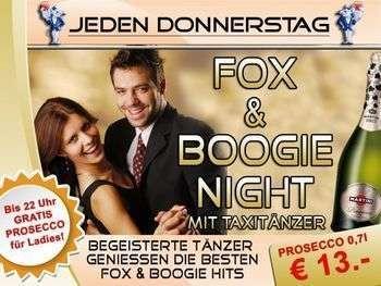 Jeden Donnerstag - Fox und Boogie Night