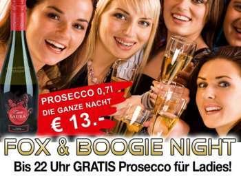 Jeden Donnerstag - Fox und Boogie Night in der Mausefalle