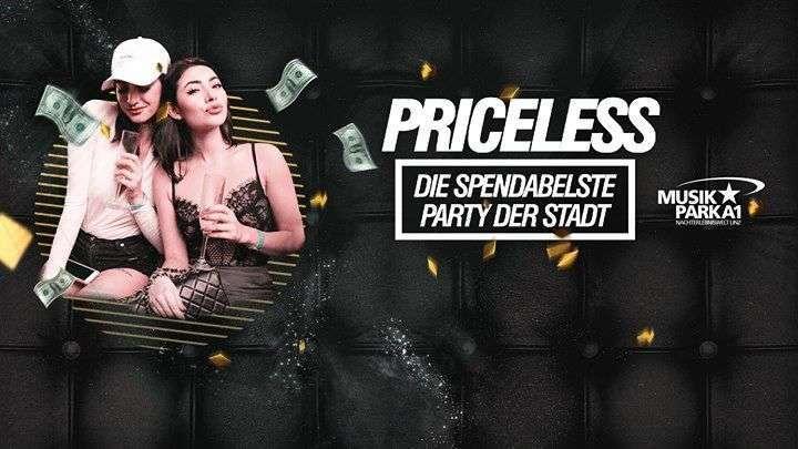 Priceless aber die spendabelste Party der Stadt im Musikpark A1 - Bild 1