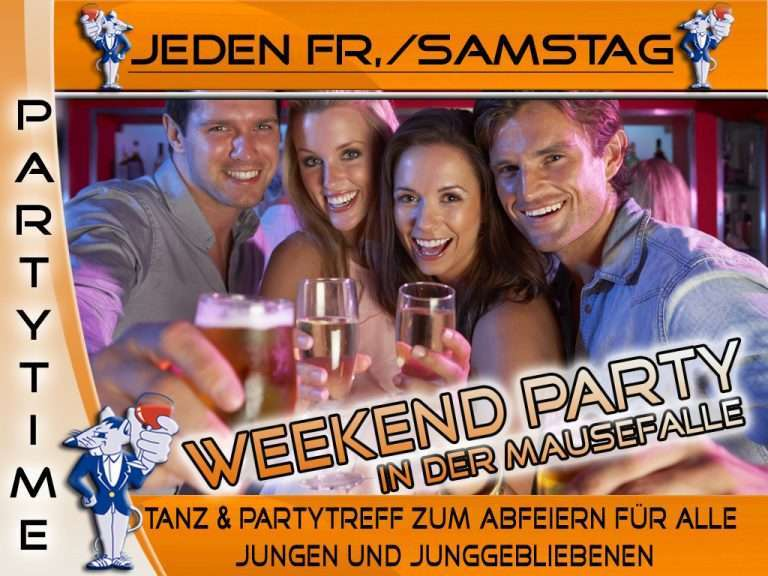 Weekend Party in der Mausefalle - Bild 1