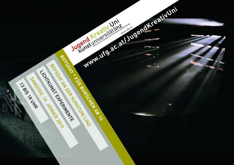 LICHTKUNST EXPERIMENTE >>> für Jugendliche an der Kunstuni Linz - Bild 1