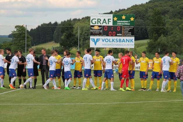 Skn Gewinnt Testspiel Gegen Blau Weiß Linz