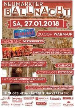 Neumarkter Ballnacht 2018