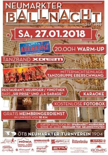 Neumarkter Ballnacht 2018 - Bild 1