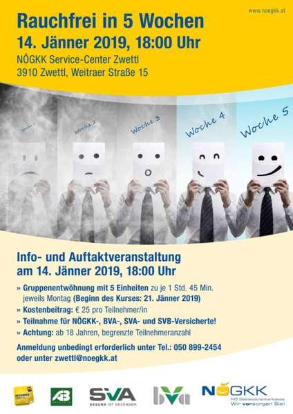 NÖGKK-Raucherentwöhnungsprogramm