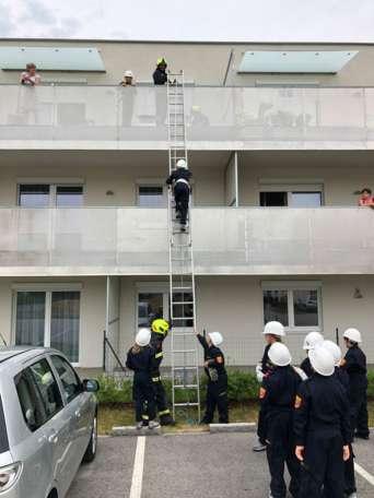 Erfolgreiche Erprobung der Feuerwehrjugend Ennsdorf