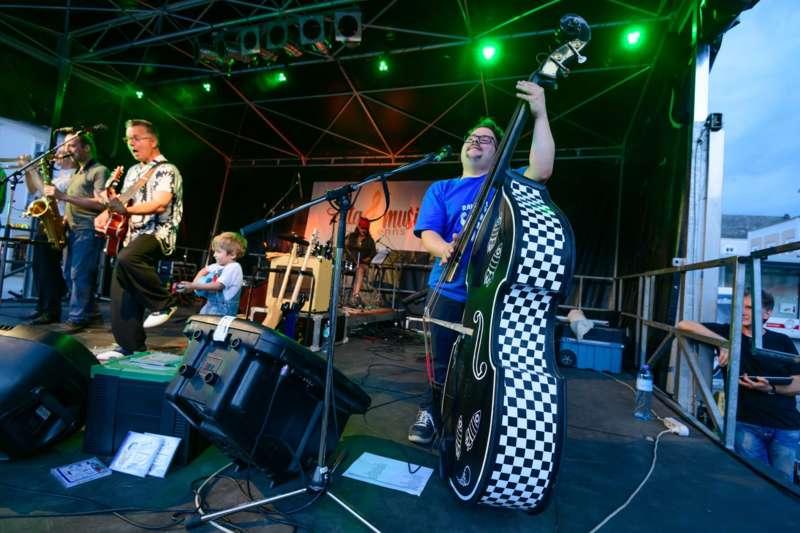 cittá musica: Jonny Comet & The Rockets brachten den Hauptplatz zum Beben - Bild 38