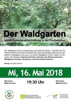 Der Waldgarten - Vortrag mit Bernhard Gruber