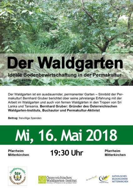 Der Waldgarten - Vortrag mit Bernhard Gruber - Bild 1