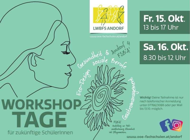 Workshoptage für zukünftige SchülerInnen 15./16.10.2021 - Bild 1