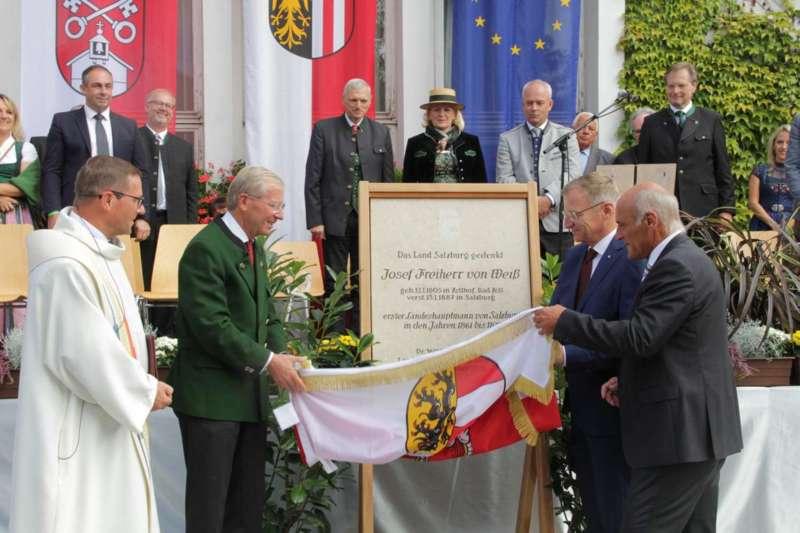 Festakt: Gedenktafel für berühmten Sohn von Bad Zell enthüllt - Bild 13