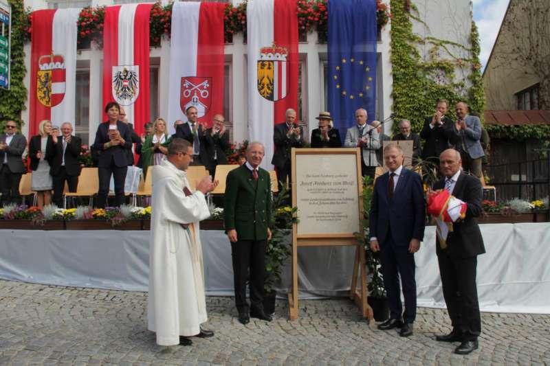 Festakt: Gedenktafel für berühmten Sohn von Bad Zell enthüllt - Bild 15