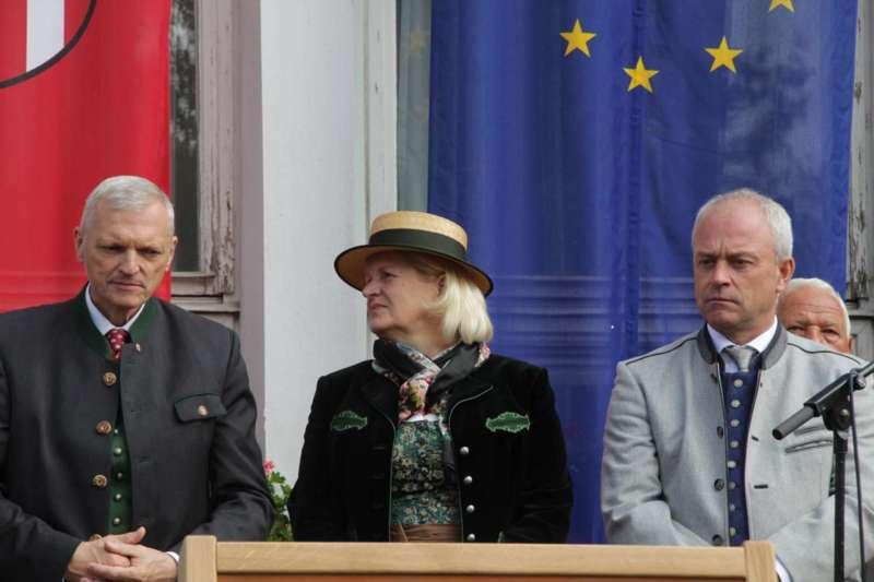 Festakt: Gedenktafel für berühmten Sohn von Bad Zell enthüllt - Bild 31