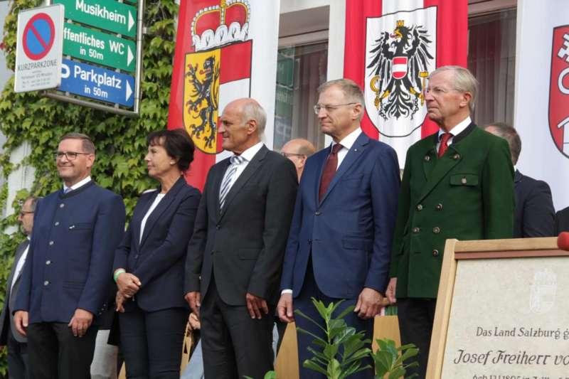 Festakt: Gedenktafel für berühmten Sohn von Bad Zell enthüllt - Bild 34