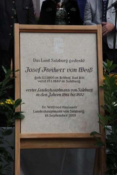 Festakt: Gedenktafel für berühmten Sohn von Bad Zell enthüllt - Bild 42