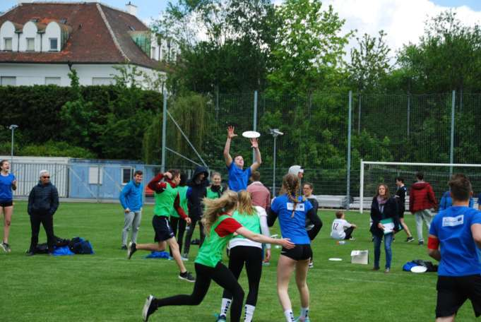 2. Ultimate-Frisbee Schulcup