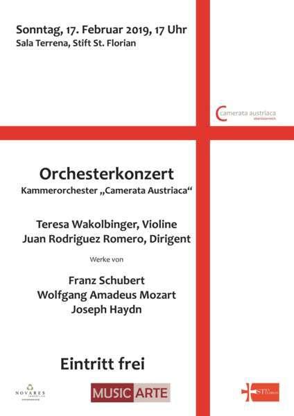 Konzert Camerata Austriaca OÖ & Teresa Wakolbinger  - Bild 1500978113